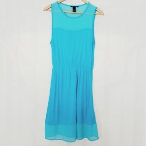 5/$25 H&M Knit Dress Blue Small